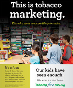 tobacco marketing ad